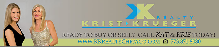Bus Ad for KK Realty Chicago